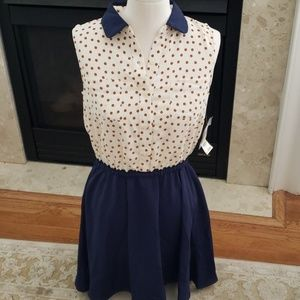 NWT maison Jules sleeveless dress